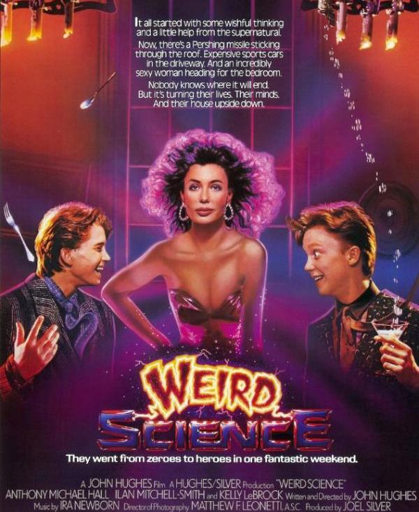 Weird science forgot to hook up the doll